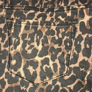 NWT Rebecca Minkoff cheetah pants